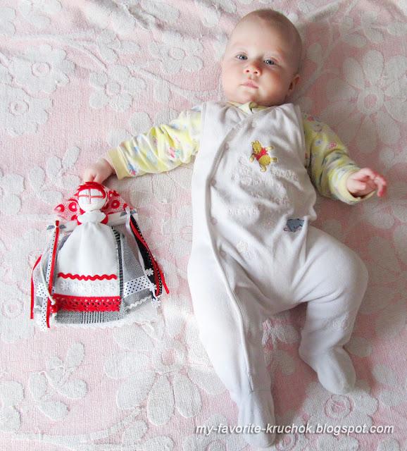 Большая куколка и маленькая :)
