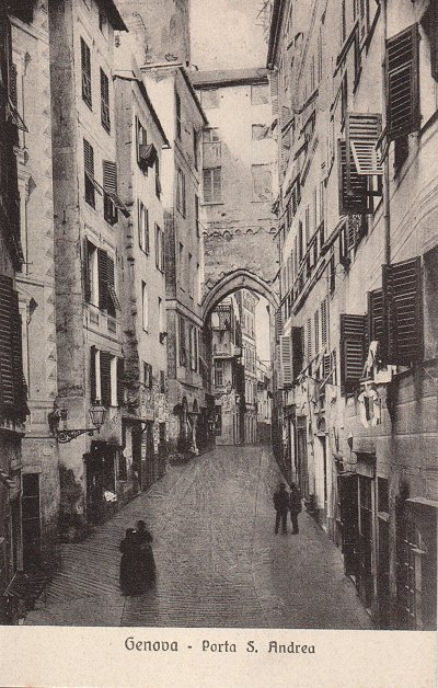 Isegretideivicolidigenova le porte di genova - Genova porta principe ...