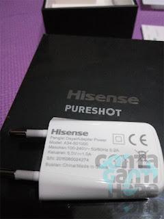 Hisense Pureshot - dibekali kepala charger dengan output 1A