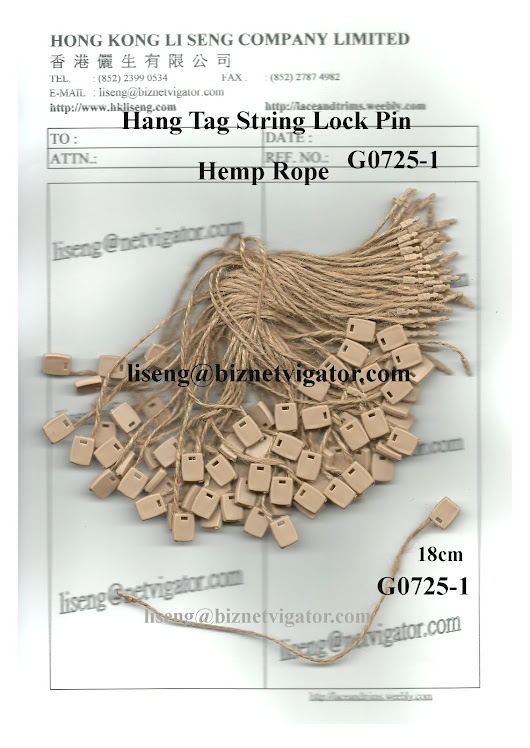 Hemp Rope String Lock Pin Manufacturer