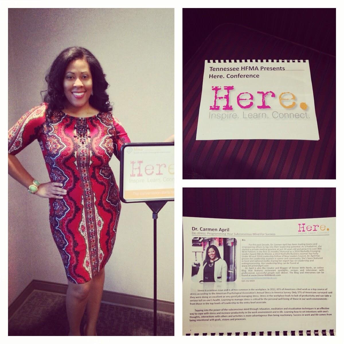 Dr. Carmen April Leadership Speaker