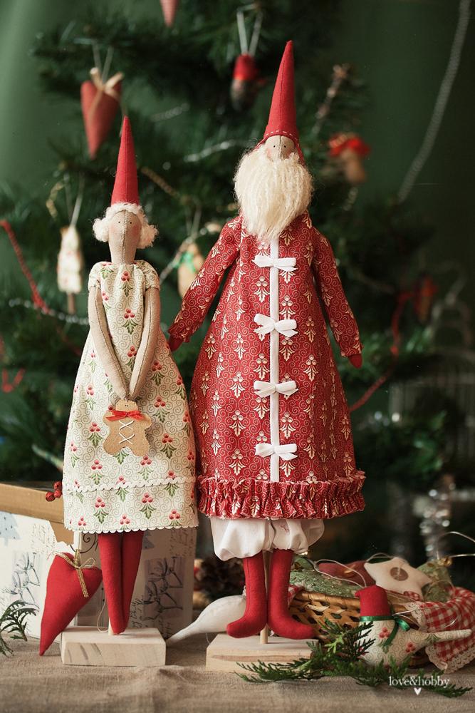 love&hobby.Моменты фантазии и вдохновения: Санта с подружкой
