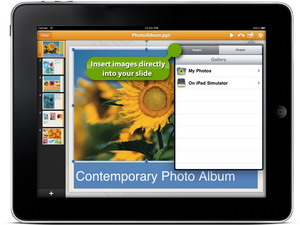 QuickOffice iPad application adds PowerPoint editing