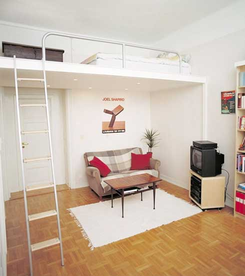 Small Apartment Design With Scandinavian Style That Looks: A Casa Dos Sonhos... Pequenos Lofts