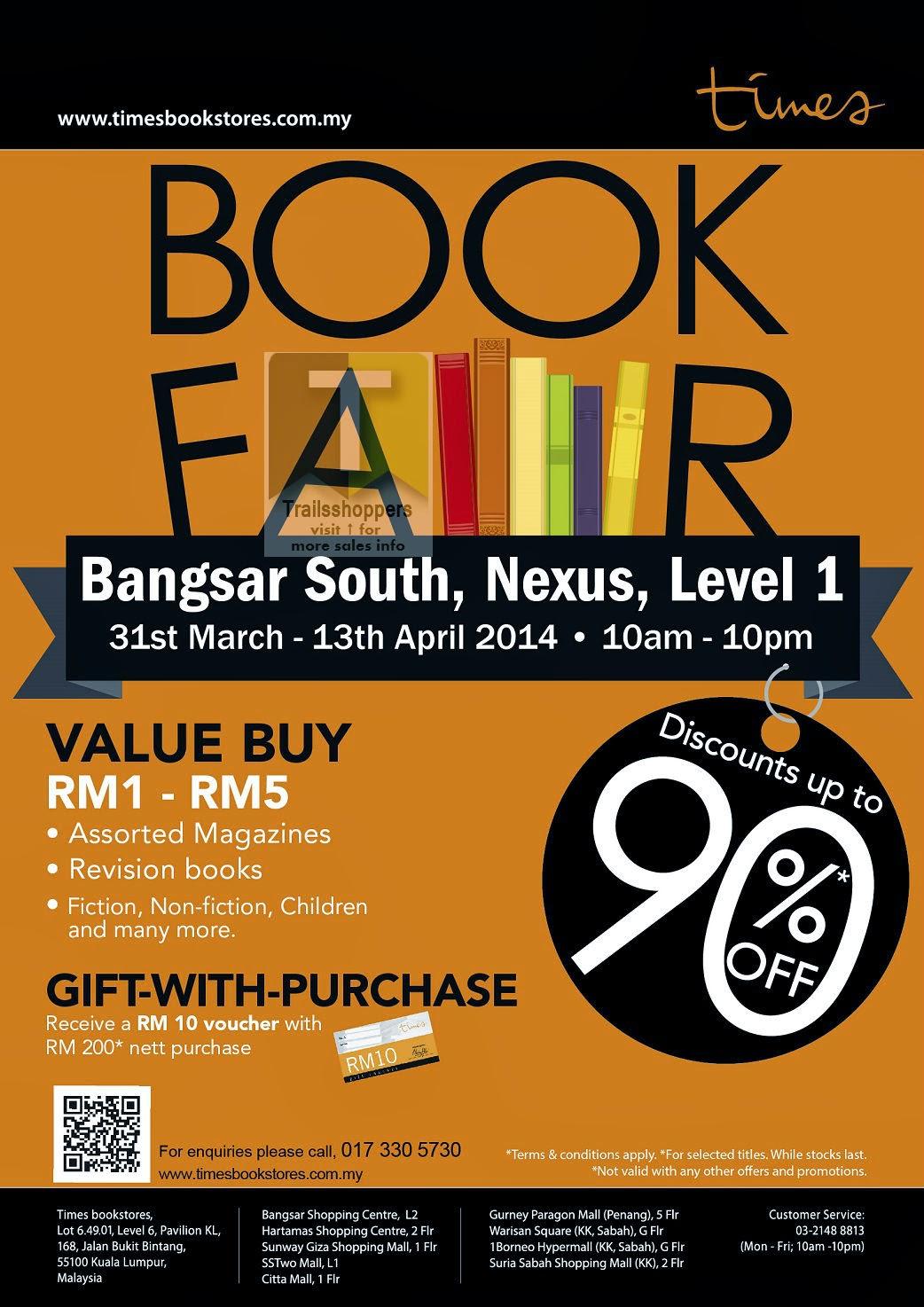 Times Book Fair Malaysia Bangsar