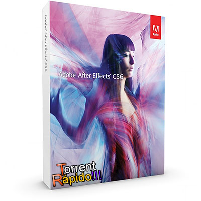 Download da Capa 3D do Programa Adobe After Effects CS6 BY Torrent Rápido!!!