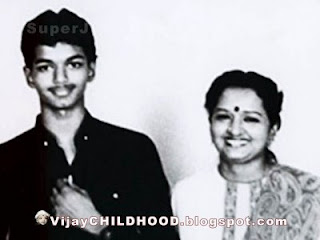 Vijay & His Mom Sangeetha