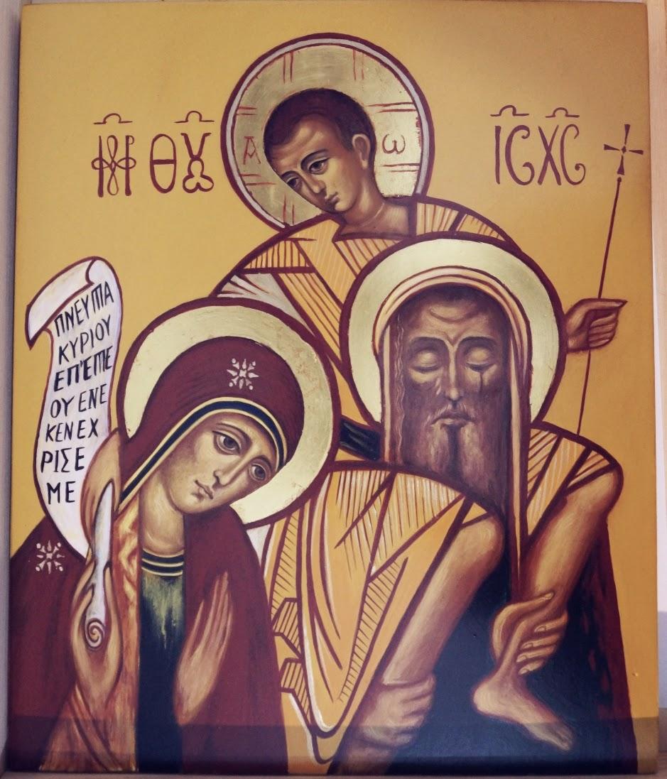 Ikony Ikonopisanie Niedziela świętej Rodziny