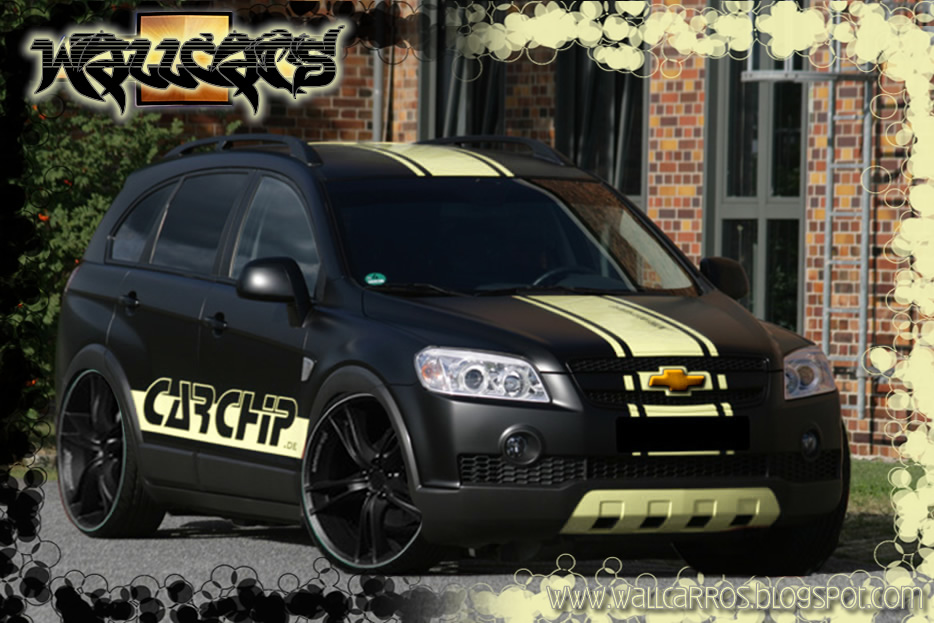 chevrolet captiva tuning 3d hd wallpapers. Black Bedroom Furniture Sets. Home Design Ideas