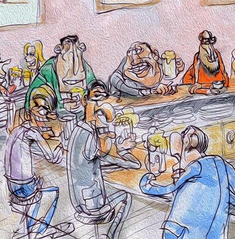 De Bar en Bar