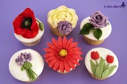 Curso cupcakes Madrid - Florales