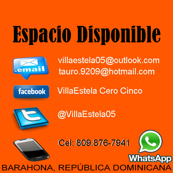 Espacio Disponible