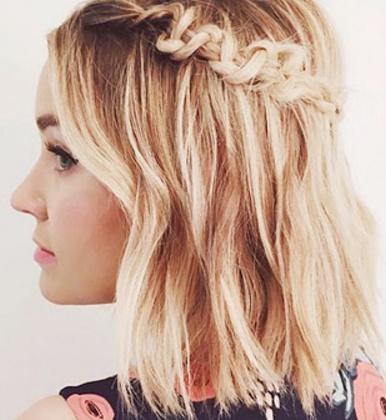 La moda en tu cabello trenzas en las melenas midi 2016 - Peinados en melenas ...