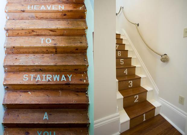 Laura Adkin Interiors: Painted Stairs