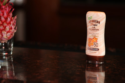 Hawaiian Tropic Silk Hydration lotion sunscreen