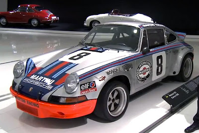 Porsche Museum highlights history of the 911 RSR