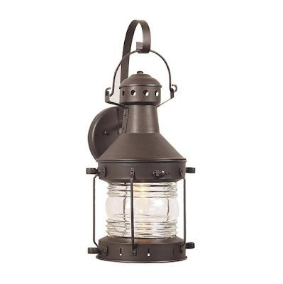 rustic nautical outdoor lighting