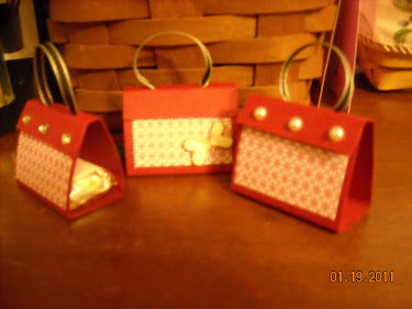 little treat purses, hold one nugget bar prpiece of hard candy.