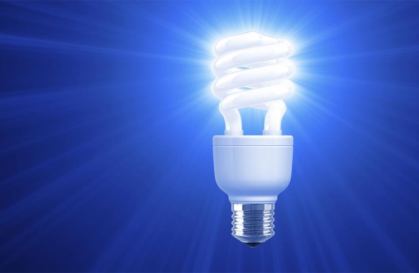Instalaciones electricas residenciales - foco ahorrador
