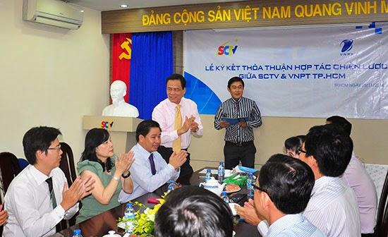 SCTV – VNPT TP.HCM ký kết thỏa thuận hợp tác chiến lược