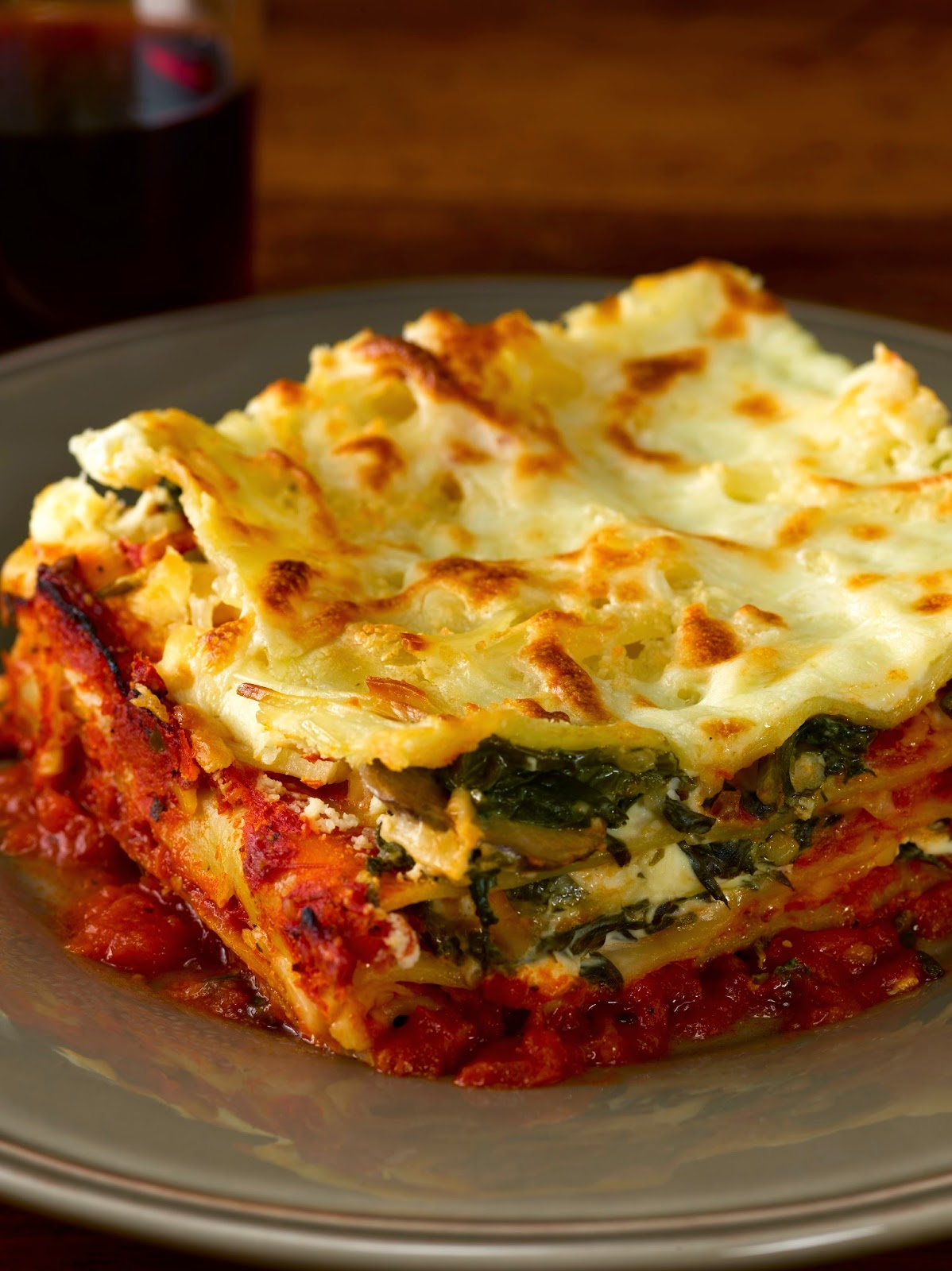 Creamy Meaty Lasagna Recipe