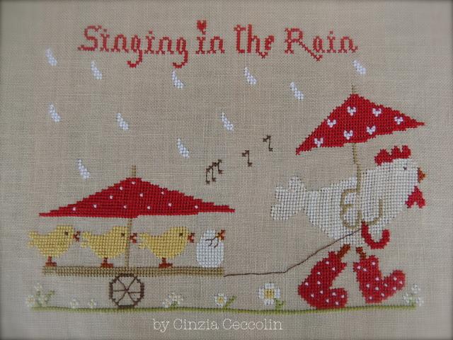 singing in the rain e premio per mia ricetta pane naan!!