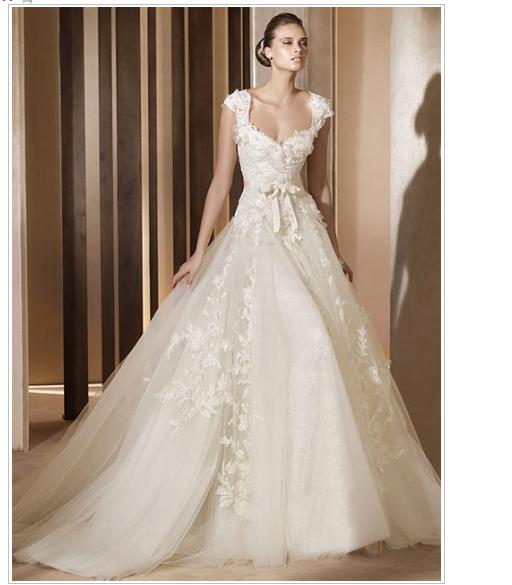 Line A Wedding Dress