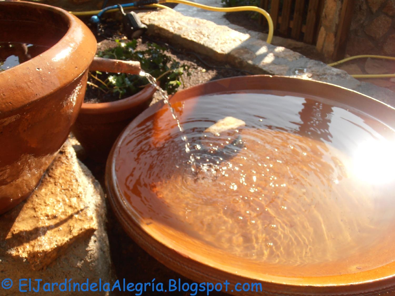 El jard n de la alegr a agua c mo instalar una bomba for Fabricacion de jardines