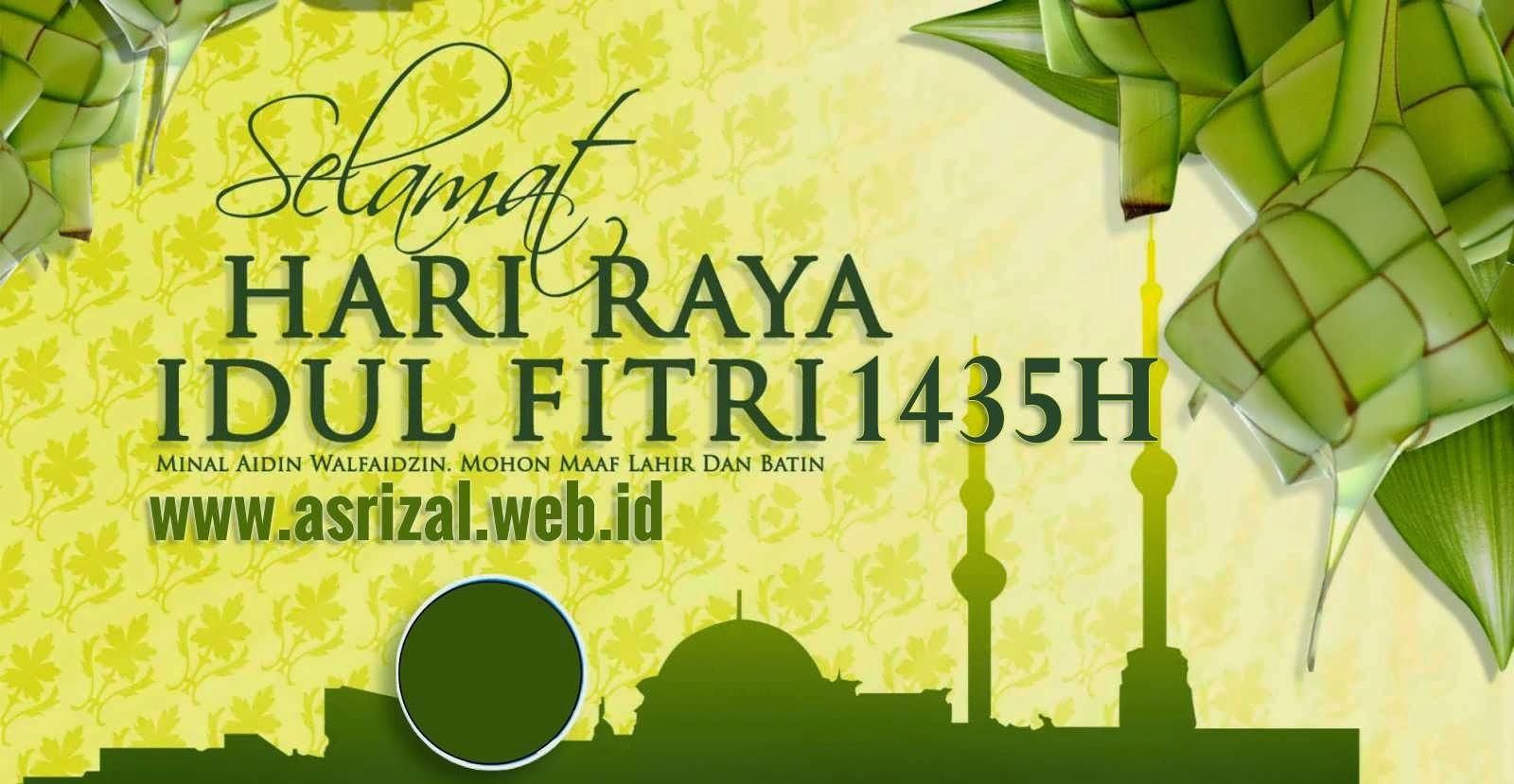 SMS Ucapan Selamat Lebaran Idul Fitri 1435H Terlengkap 2014