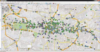 Map, GPS, Garmin, Mapa, San Jose, Costa Rica, TomTom