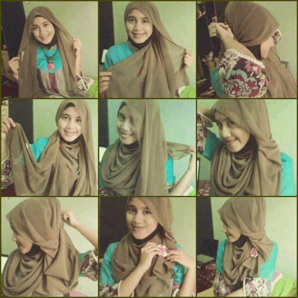 Hijab Pashminaa Cara Berhijab Pashmina Sifon Polos Images