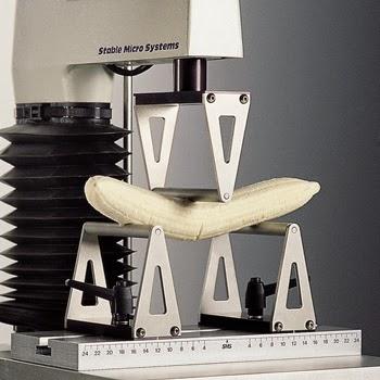 Banana ripeness measured on a TA.XTplus texture analyser