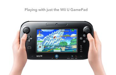 Wii U game console