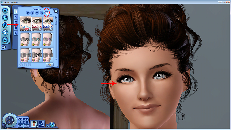 """Eyes, eyes baby xD - 3D eyelashes """"tutorial"""" *UPDATED* 04+Layer+3D+eyelashes+using+accessory"""