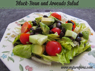 Black-Bean and Avocado Salad from My Turn (for us)