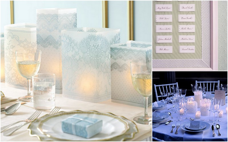 Oh martha lace at your wedding cloud 9 for Cloud centerpieces