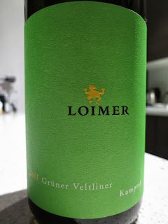 Wine Review of 2011 Loimer Grüner Veltliner from Austria