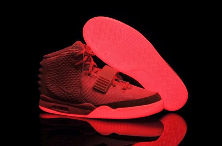 2 Red October Glowing Shoes for Sale in Christmas day