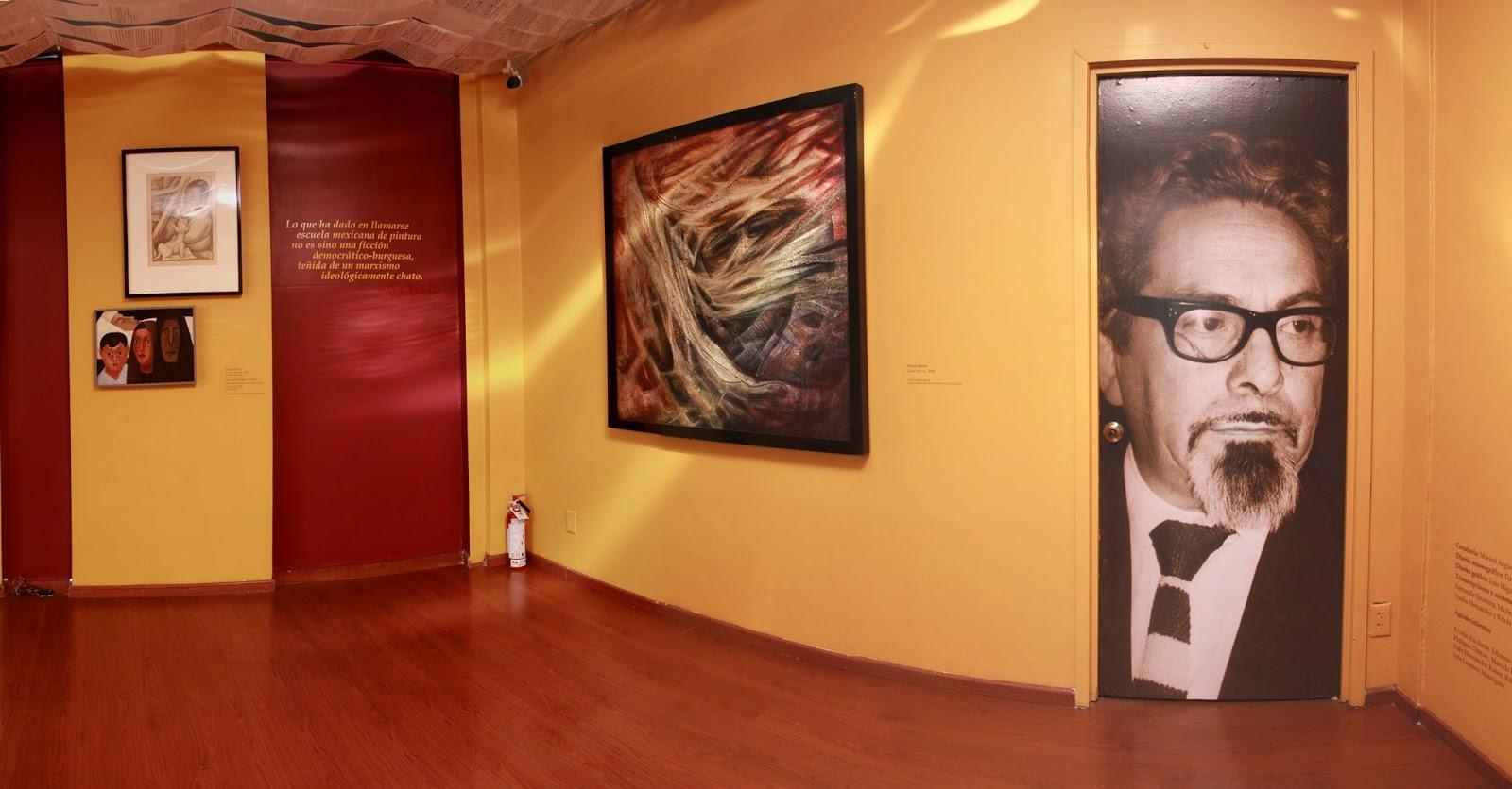 Exposición en homenaje a José Revueltas en el Museo de Arte Moderno