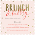[celebrates] Brunch and Bubbly Bridal Shower