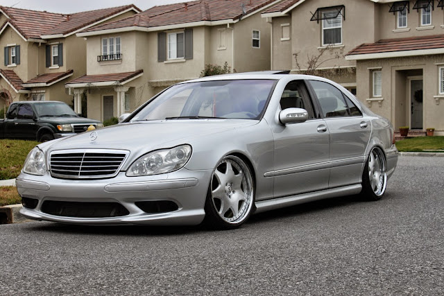 Mercedes benz w220 s55 amg vip style benztuning for Mercedes benz s55
