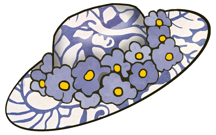 clipart easter bonnets - photo #2