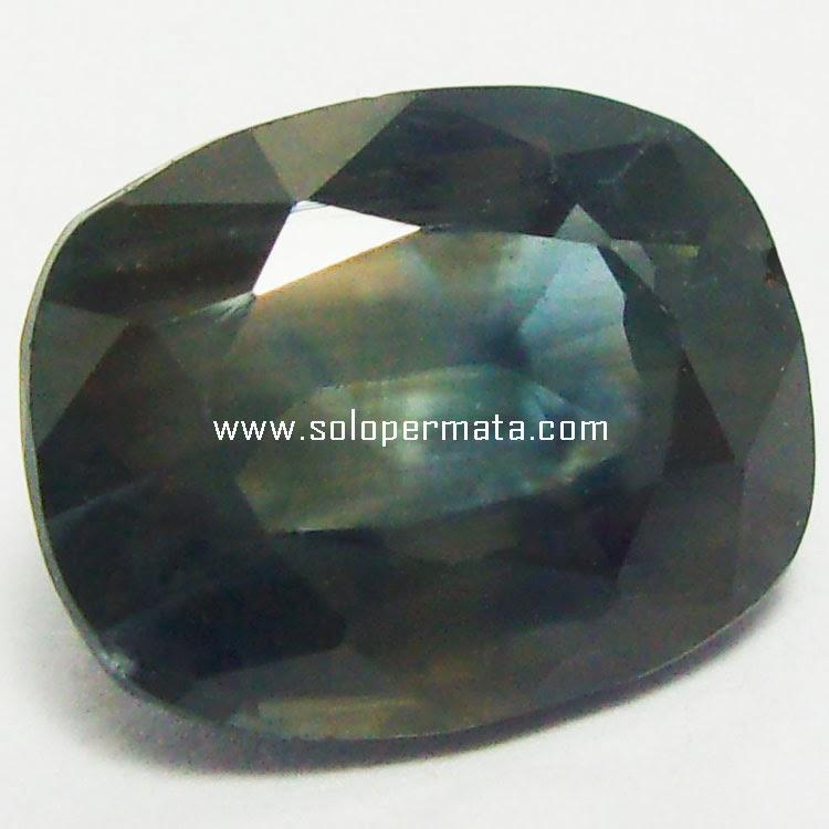 Batu Permata Bi-Color Sapphire Ceylon - 24A03