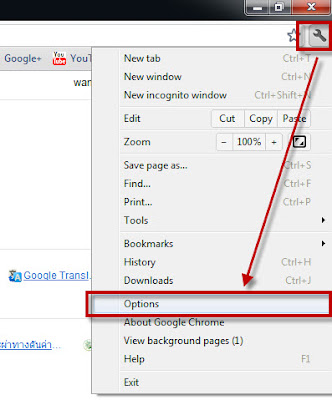 how to set google chrome to translate pages