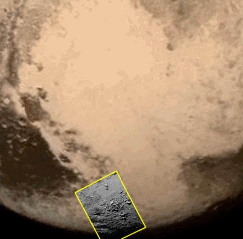 primeira imagem de Plutão após máxima aproximação da sonda New Horizons