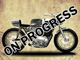 YAMAHA XS500-ON PROGRESS
