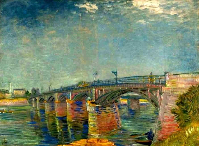 El museo de hipatia vincent van gogh le pont sur la for Asnieres sur seine piscine