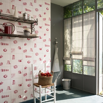 Papel pintado febrero 2012 for Papel para pared de cocina
