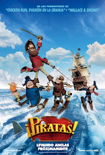 ¡Piratas! (The Pirates! Band of Misfits) (2012) Español Latino