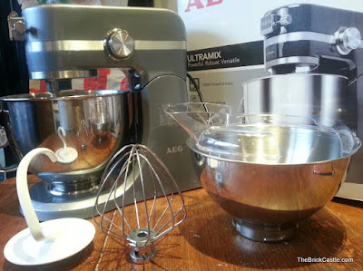 Ultramix Review AEG KM4400 Food mixer processor